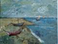 Van Gogh Boats